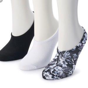 Converse 3-Pack Linear Socks Made for Chucks NWT